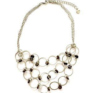 Alfani Silver Wood Necklace
